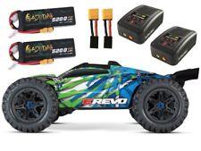 Traxxas E-Revo VXL Brushless TQi 2018 + 2x3S LiPo & 2 Ladegeräte - 86086-4SET3