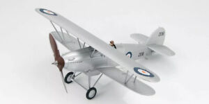 """Hobby Master 1:48 HA8002 Hawker Fury I,South Africa Air Force ,Oct.1940 """" 206 """""""