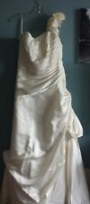 MoriLee Beautiful Floral Accent Wedding Dress Size 18