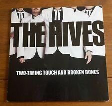 "The Hives-Toque de sincronización de dos y huesos rotos 7"" Vinilo"