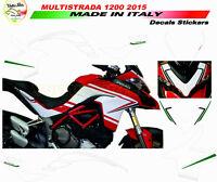"""Kit adesivi design personalizzato Moto Ducati Multistrada 950/1200 DVT """"V284"""""""