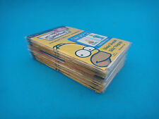 Simpsons 3D Character Collection Complete Sealed Set 14 Cards Daily Telegraph