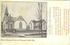 Ashville, OH The Methodist Episcopal Church and Parsonage