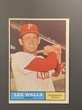 1961 Topps #78 Lee Walls NM-MT *Sharp* Philadelphia Phillies