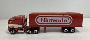 Matchbox Red Tractor Trailer Semi Truck 1981 Articulated Trailer Nintendo RARE!