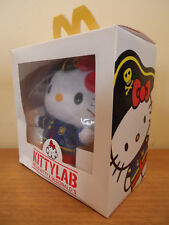 NWB McDonald's Kitty Lab Hello Kitty Hong Kong Version Plush 2009 Sanrio Co, LTD