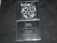 GOSPEL OF THE HORNS - Sinners / Monuments Of Impurity 1st ed CD new  '08 sealed