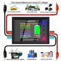 Digital Display BT DC Power Meter Voltmeter Ammeter Battery Capacity Tester New