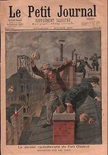 Ravitaillement Fort Chabrol Jules Guérin Police Paris France 1899 ILLUSTRATION
