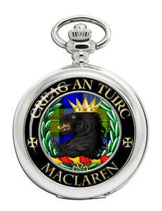 Maclaren Scottish Clan Pocket Watch