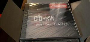 CD-RW Imation 10er Pack 80min 700MB 4x-12x originalverpackt OVP neu