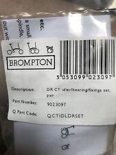 Brompton Derailleur Chain Tensioner Idler / Bearing / Fixings Set