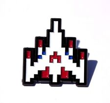 CHALLENGING STAGE LAPEL PIN - DATA - GALAGA - ARCADE - CLASSIC
