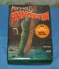 vintage MIX 'N MOLD FRANKENSTEIN MODEL CASTING KIT (incomplete)