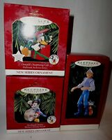 HALLMARK DISNEY ORNAMENTS COLLECTOR'S SERIES MICKEY MOUSE NEW IN ORIGINAL BOX