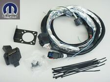 JEEP WRANGLER 2007 - 2014 REAR 7 WAY CONNECTOR TOWING PLUG TRAILER WIRING KIT