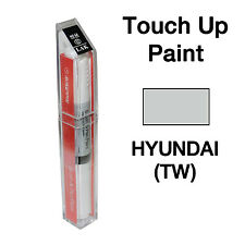 Hyundai OEM Brush&Pen Touch Up Paint Color Code : TW - Sterling Silver
