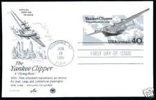 UXC25 40c Yankee Clipper, ArtCraft, PCS,FDC