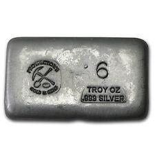 6 oz Silver Bar - Prospector's Gold & Gems - SKU #78526