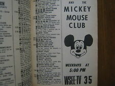 1963 TV Guide(THE MICKEY MOUSE CLUB/EMPIRE/RICHARD EGAN/PETER BROWN/JOANNA MOORE