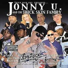 JOHNNY U & THE THICK SKIN FAMILY DOLL E GIRL CHICANO RAP CD