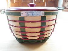 Longaberger 2007 Welcome Home Bee Basket Set
