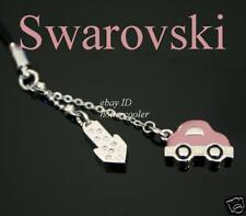 SIGNED SWAROVSKI Edison Scooter CAR Cell Phone CHARM