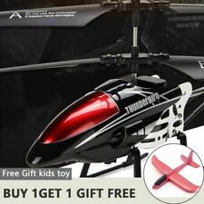 Rc Helicopter Radio Control Led Light Quadcopter Children Gifts Flying Toys Mode