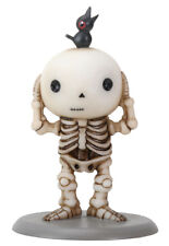 Luckyz™ – Lucky Hears No Evil With a Black Crow Skeleton Collectible Figurine