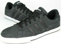 Adidas NEO SE Daily Vulc Skateboarding Shoe, Men Sz 9.5, Black White, F76263