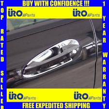 Mercedes C E GLK SLK Chrome Exterior Door Handle Cover/Scuff Plate Set of 4 URO