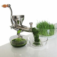 304# Stainless Steel wheatgrass juicer Hand Crank wheat Grass Juicer and Fruit