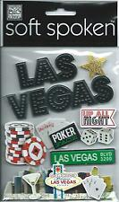 Mambi LAS VEGAS 3d Scrapbook Stickers