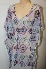 NWT Miken Swim Swimsuit Cover Up Tunic Size S POL