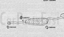Exhaust Middle & Rear Box Fiat Tempra 1.9 Diesel Estate 01/1993 to 10/1996