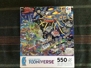 """Steve Skelton's Tooniverse 550 Piece Jigsaw Puzzle """"Architecture Salvage"""""""