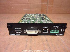 Crestron DMCO-DVI Digital Media Input Card DVI / RGB PULLED FROM DM-MD8X8-RPS