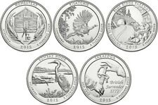 America the Beautiful National Park Quarters 2018 S Mint BU set of 5