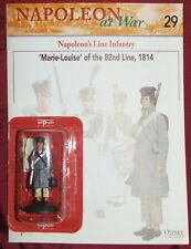 """Del prado Napoleón en guerra """"Marie Louise"""" 0f la línea 82nd, 1814 & FOLLETO Nuevo en Paquete"""