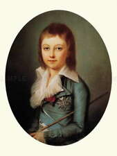 110689 PORTRAIT KUCHARSKY DAUPHIN LOUIS CHARLES FRANCE LAMINATED POSTER AU