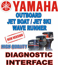 HQ new YAMAHA Outboard Jet Boat Wave Runner diagnostic cable interface USB YDS