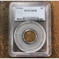 1914 S Lincoln Cent PCGS XF40 *Rev Tye's* #843463