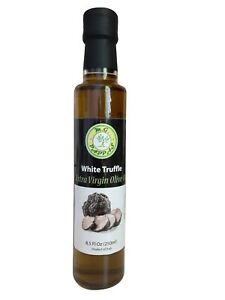 M.G. PAPPAS White Truffle Infused Extra Virgin Olive Oil Cold Pressed Italian