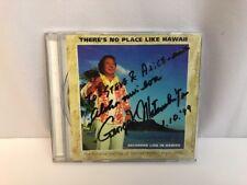Hawaii Keoki Matsushita CD There's No Place Like Hapa-Haole Falsetto Signed '99