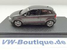 + VOLKSWAGEN VW Polo 5  6R1 in 1:43 von Schuco graumetallic  ORIGINAL  NEU