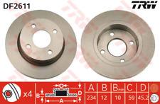 Bremsscheibe (2 Stück) - TRW DF2611