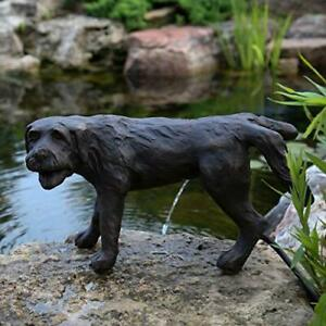Aquascape 78310 Naughty Dog Pond and Garden Water Fountain Brown