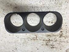PORSCHE 924 944 INSTRUMENT CLUSTER SURROUND CLOCKS BINNACLE