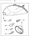 C2P14617 - XK RHD LHS HEAD LAMP