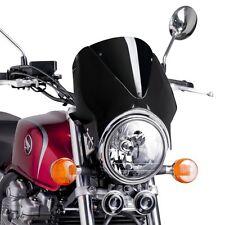 Pare brise Puig VN pour Sachs Roadster 125/650/800 saute vent bulle noir